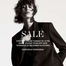 Zara Sale  Starting online on 25th December 2019