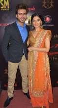 Pernia Qureshi & Imran Abbas Visit Amrapali Store In Jaipur for Jaanisaar Promotions